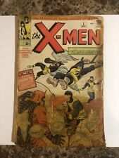 X-MEN #1🔥COMPLETE 1ST APP OF MAGNETO XMEN NO CGC MARVEL STAN LEE NOT SPIDER-MAN