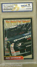 2001 Dale Earnhardt Gold Collectables Need for Speed WCG 10 Gem Mt