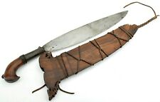 Good 19th C. Philippine Moro Chieftain's Barong Sword