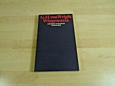 Georg Henrik von Wright: Wittgenstein / Suhrkamp / Taschenbuch