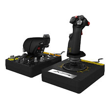 Mad Catz Saitek Pro Flight X-55 X55 Rhino H.O.T.A.S. Throttle and Hand Stick