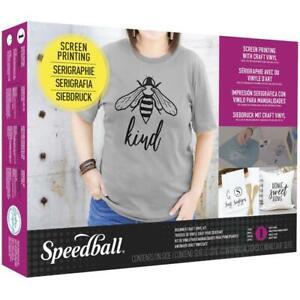 Speedball BEGINNER SCREEN PRINTING CRAFT VINYL KIT SB045085