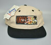 Baltimore Orioles MLB Vintage 90's Logo Athletic Snapback Cap Hat - NWT