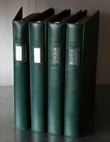 BRD 1972/99 Postfrisch und gestempelte Sammlung in 4 Lindner T Alben 4.000 EURO