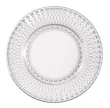 8 x placas de papel de plata banquete-Plata 25th Aniversario Boda Fiesta Boda