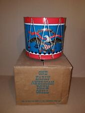Portable Early American Drum Bbq Grill Nos
