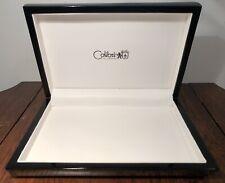 New! COLIBRI OF LONDON Black Jewelry Display Box Sharp!