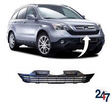 PARAURTI ANTERIORE CENTRALE SUPERIORE GRILL TRIM nero compatibile con Honda CR-V 2007-2009