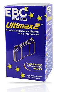EBC ULTIMAX REAR BRAKE PADS for Audi A4 B8 2.0L TFSI QUATTRO AWD 10/2008-8/2013