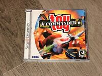 Toy Commander Sega Dreamcast Complete CIB Tested