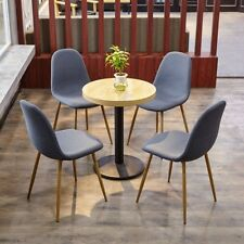 Unbranded Fabric Chairs with 4 Pieces