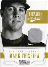 2012 Panini National Treasures Materials #15 - Mark Teixeira [71/99] Jersey