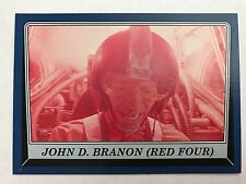Star Wars Rogue One Mission Briefing #90 John D. Branon (Red Four) BLUE