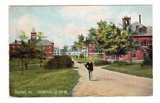 ME - ORONO MAINE 1910 Postcard UNIVERSITY CAMPUS