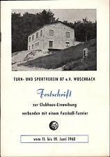 11. - 19.06.1960 Festschrift TuS 07 e.V. Wöschbach - Wolfsburg