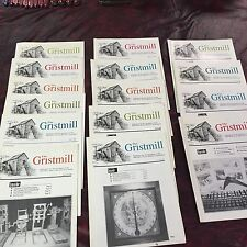 THE GRISTMILL - A MWTCA PUBLICATION- 16 ISSUES 1990'S