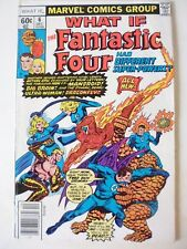 WHAT IF ISSUE # 6. THE FANTASTIC FOUR HAD DIFFERENT SUPER-POWERS.  VOL.1 SERIES