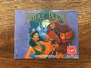 Prince of Persia NES Nintendo Instruction Manual Only