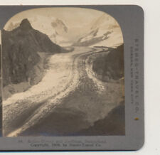 Boden Glacier and Zwillinge Switzerland Stereo Travel Stereoview 1908