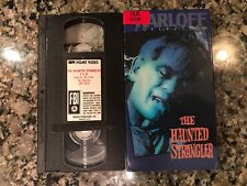 The Haunted Strangler Vhs! 1958 Horror! Dracula The Fly The Blob Psycho