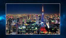 Tokyo Skyline Fridge Magnet NEW. Travel Souvenir. Japan