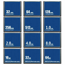 32MB 64MB 128MB 256MB 512MB 1GB 2GB 4GB CF CompactFlash CF Memory Card New