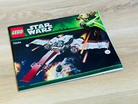 LEGO - INSTRUCTIONS BOOKLET ONLY - STAR WARS 75004 - Z-95 Headhunter