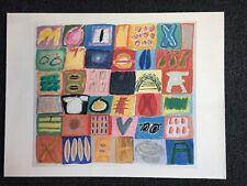 Ida Kohlmeyer - Circus Series No. 3-2 - Vintage Lithograph Art Print