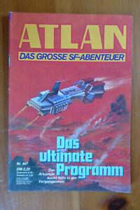 Verkaufe Atlan-Heft 847