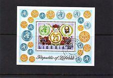 Liberia Mi 888 Block 67 Paul Ehrlich Used C.W. 2,40 euro