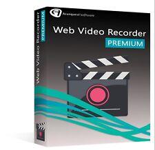 AVANQUEST WEB VIDEO RECORDER PREMIUM nuovo