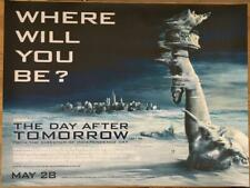 The Day After Tomorrow - Original UK British Quad Poster 40x30 inches - Liberty