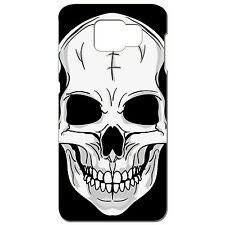 Coque 3D Téléphone - SAMSUNG GALAXY S6 EDGE -TÊTE DE MORT CRANE ROCK METAL SKATE