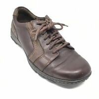 Men's Born Jackson Casual Oxfords Shoes Size 10 M US/44 EU Brown Leather AJ8