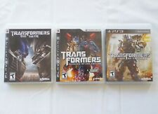 Sony PS3 Playstaion 3 TRANSFORMERS game lot 1, 2, 3 DARK OF THE MOON Activision