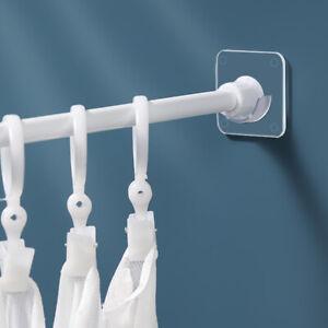 2pcs Of Punch-free Strong Rod Holder Curtain Rod Bracket Hook Adjustabli