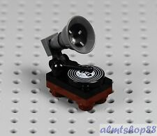 LEGO - Gramophone Turntable - Vinyl Album Rock Star Band Oldies Song Minifigure
