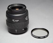 Minolta AF 35-70mm 1:3.5-4.5 Zoom Lens Sony Alpha A Mount w/UV Filter EX!