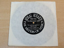 "The Sisters Of Mercy/An Interview With/1988 Spiral Scratch 7"" Single/Ltd Edition"