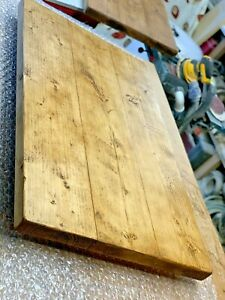 SOLID WOOD RUSTIC FARMHOUSE COTTAGE COFFEE TABLE DESK TOP ONLY HANDMADE