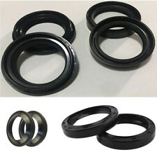 4Pcs 41x54x11mm Front Fork Damper Oil Seal and Dust Seal for Honda Suzuki Ducati