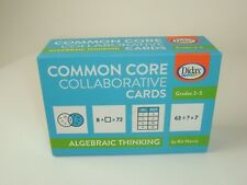 Didax Educational Common Core Collaborative Cards Algebraic Thinking Grades 3-5