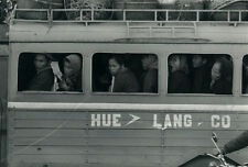 Photo Argentique Asie Vietnam Hue Autobus Vers 1965