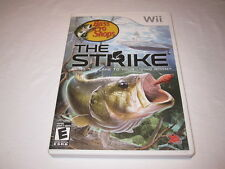 Bass Pro Shops: The Strike (Nintendo Wii) Complete LN Perfect Condition Mint!
