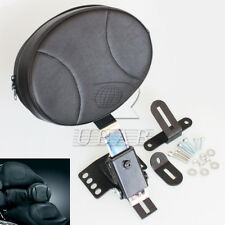 Plug In Driver Backrest Kit for Harley Touring Bagger Road King Glide 1997-2016