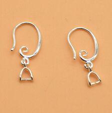 50pcs New Silver Hook Earring Earwire Jewelry Finding Accessories Wholesale