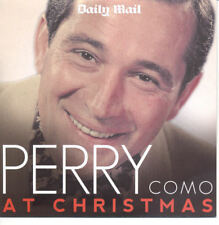 PERRY COMO AT CHRISTMAS - UK PROMO CD ALBUM / FROSTY THE SNOWMAN, SILENT NIGHT