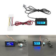 Digital LED Temperature Detector Thermometer Fitting for PC Water Cooling System