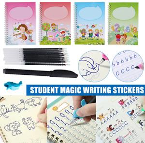 Reusable Magic Calligraphy Handwriting Copybook Set Student Practice Writing Kit
