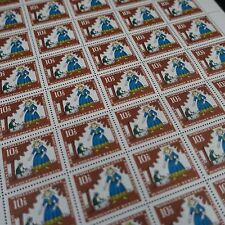 feuille sheet Bogen Deutschland berlin Nr.262 x50 1966 neuf luxe mnh